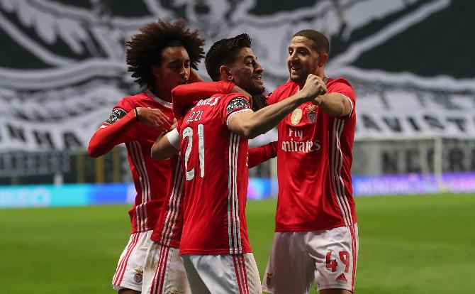 Benfica, Tomás Tavares, Pizzi e Taarabt