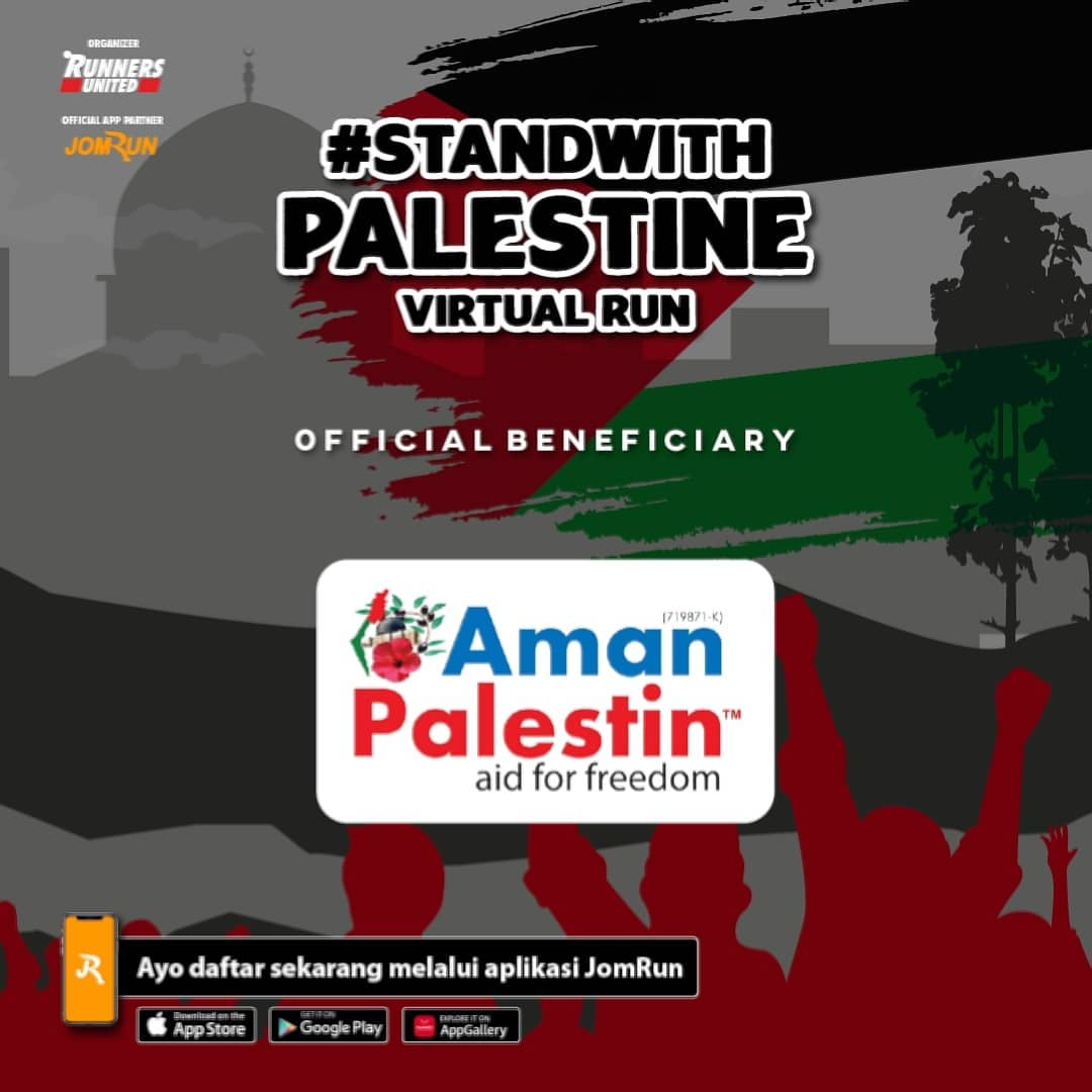 Stand With Palestine Virtual Run - Indonesia • 2021