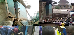 11-Year-Old Girl, Woman Gave Up The Ghost In Lagos Building Collapse