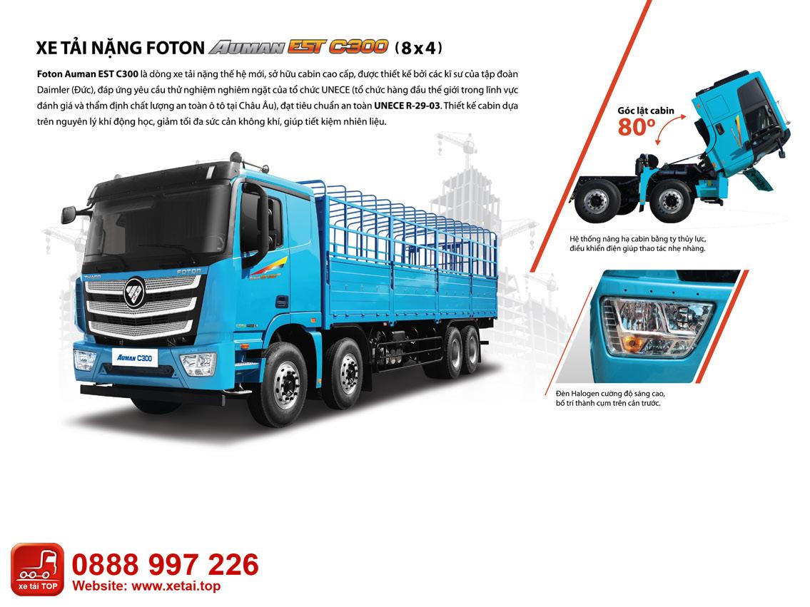 Xe-tải-Thaco-AUMAN-EST-C300-4-chân-tải-trọng-17-tấn-thùng-dài-9.5-mét