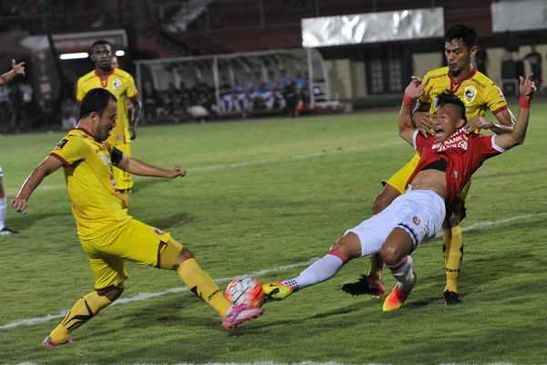 Bali United vs Sriwijaya FC