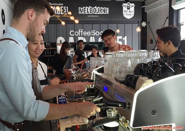 Coffee Masterclass, Garage 51 Cafe, St Ali, Tourism Victoria, Visit Melbourne, Matt Perger, World Barista, Cafe Takeover, Melbourne Coffee Culture, Coffee Culture