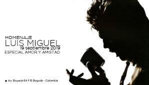 Concierto HOMENAJE A LUIS MIGUEL en Bogotá