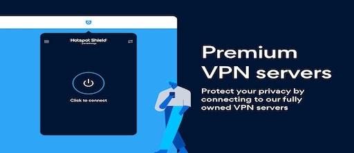 برنامج Hotspot Shield VPN لفتح المواقع المحجوبة