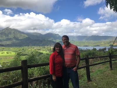 Jim Bob and Michelle, Kauai Hawaii