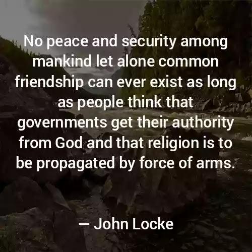 John locke quote on religion