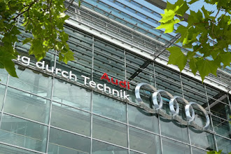 The Rookie Road Tripper Visits The Audi Forum In Ingolstadt