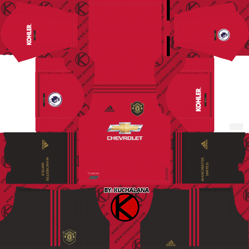Manchester United 2019/2020 Kit - Dream League Soccer Kits