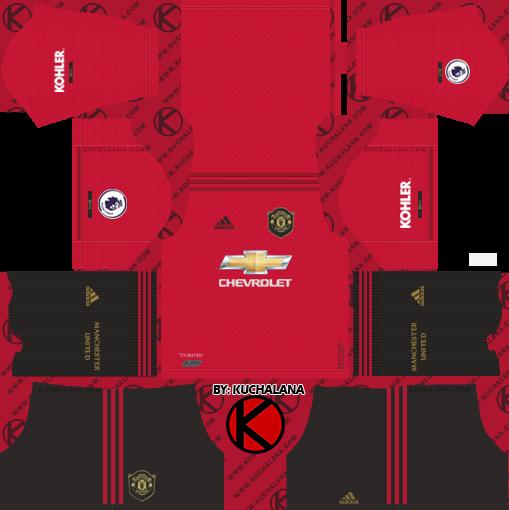 Manchester United 2019/2020 Kit - Dream League Soccer Kits