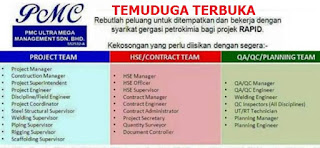 PMC Ultra Mega Management Petroleum Kerja Kosong