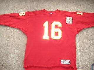 Len Dawson Kansas City Chiefs Champion Throwbacks jersey
