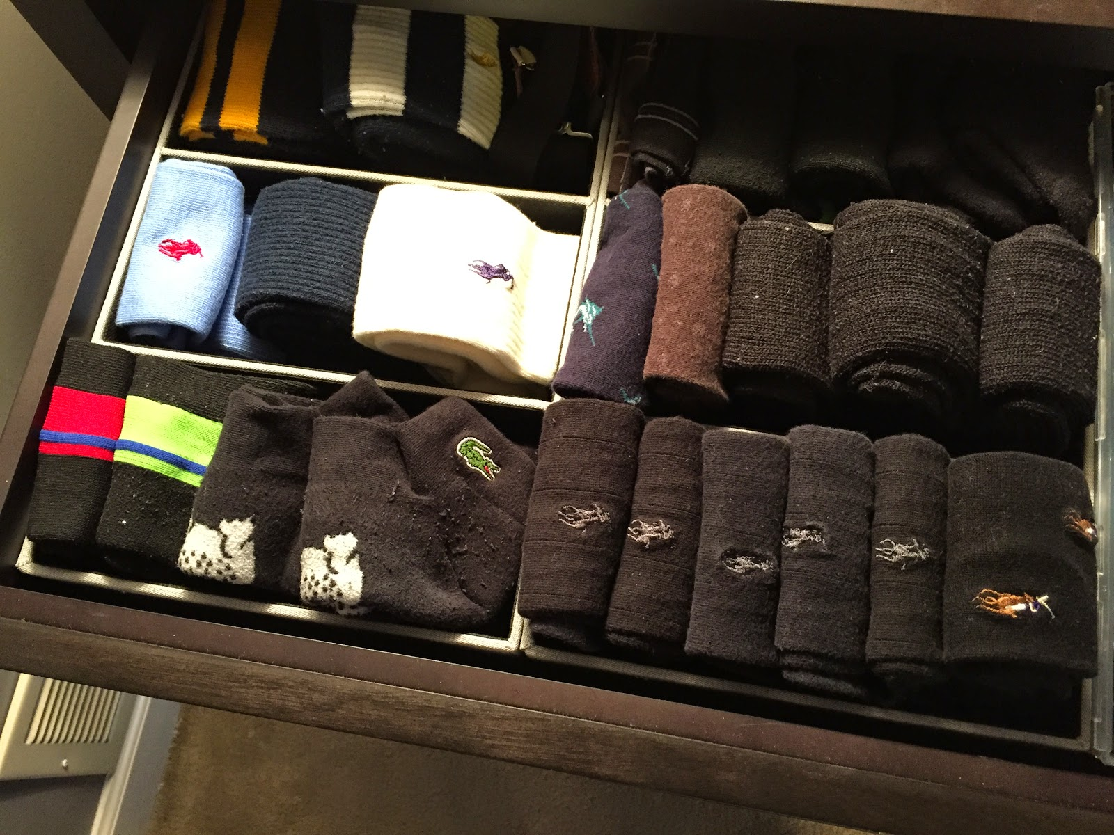 Home Food Garden Organizing The Sock Drawer