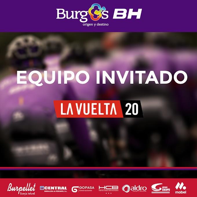 El equipo Burgos - BH está entre los 22 equipos de la Vuelta a España 2020