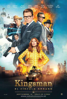 Download Film Kingsman: The Golden Circle 2017 BluRay Subtitle Indonesia