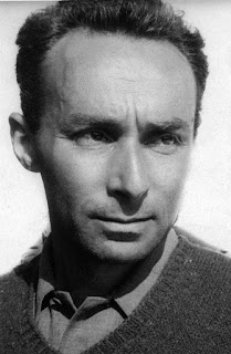 This photograph of Primo Levi was taken in around 1950
