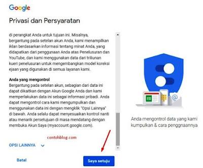Privasi dan Persyaratan Google