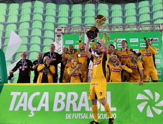 Magnus F (SP) Campeão da Taça Brasil Masculina de Futsal de 2021