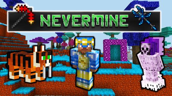 nevermine eternaliles mod para minecraft boss equips equipamentos monstros hardcore difícil