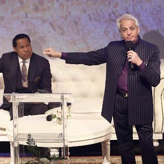 """""""Faith Never Struggles; Faith RESTS!"""" — Pastor Benny Hinn from #HLT2018"""