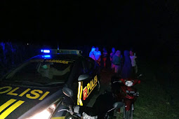 Antisipasi Gangguan kamtibmas, Polsek Bontonompo Polres Gowa lakukan patroli blue light