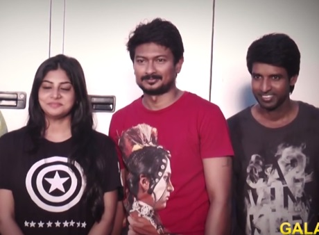 Udhayanidhi, Manjima's Film Wrap Up