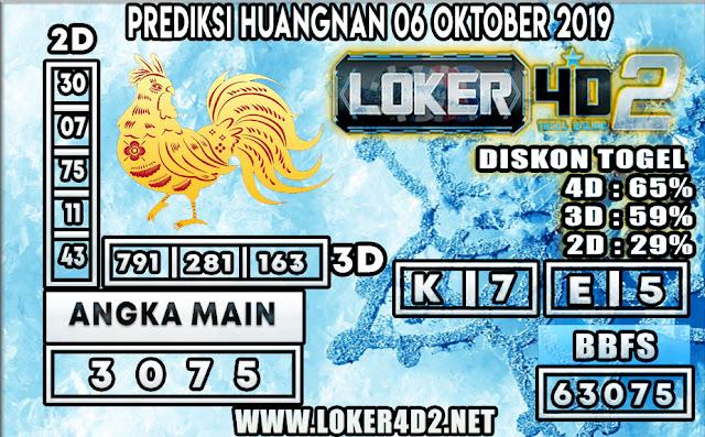 PREDIKSI TOGEL HUANGNAN POOLS LOKER4D2 06 OKTOBER 2019