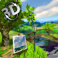 Parallax Nature: Summer Day 3D Gyro Wallpaper Apk free for Android