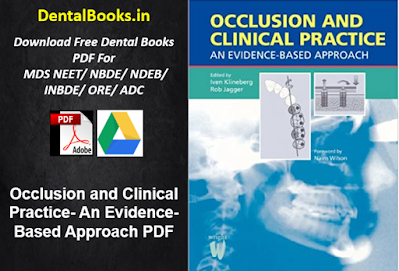Occlusion and Clinical Practice- An Evidence-Based Approach PDF
