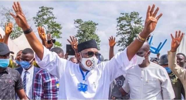 JUST IN: INEC declares Akeredolu winner of Ondo guber poll