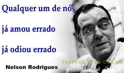 frases de Nelson Rodrigues