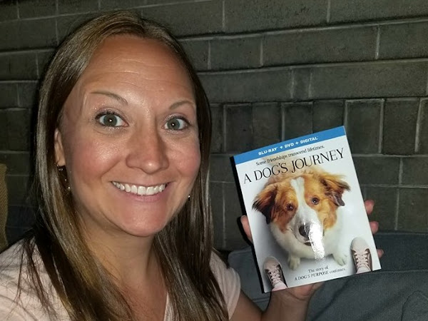 A DOG'S JOURNEY - Starring Dennis Quaid - Now On Digital and Blu-ray + #Giveaway