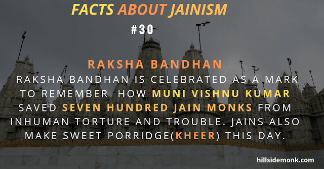 Jainism Raksha Bandhan rituals of jainism