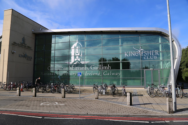 What to do in Galway: Visit the Kingfisher Club on the NUI Galway university campus