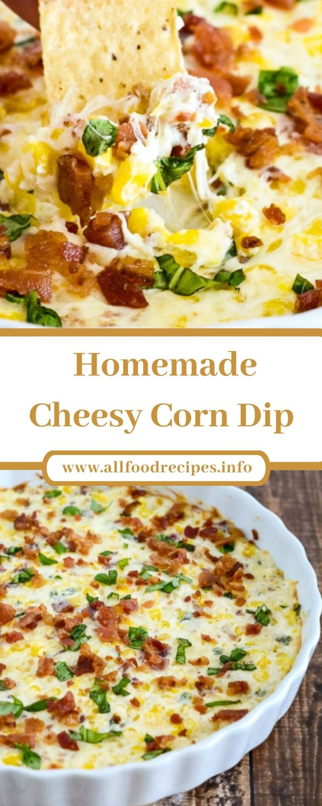 Homemade Cheesy Corn Dip