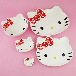 Gambar Piring Hello Kitty 1