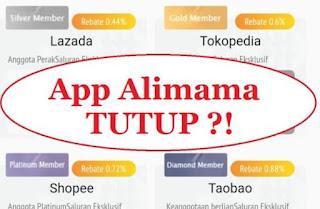 Alimama Tutup