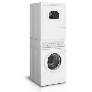 Front-loading washing machine- Stackable