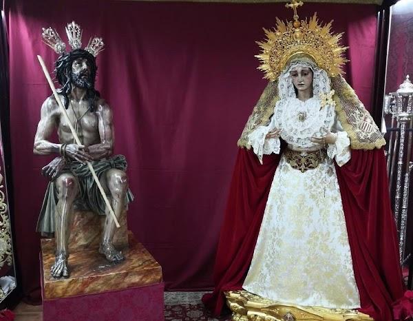 La Merced de Córdoba traslada sus imágenes a la casa de hermandad