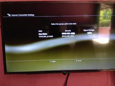 Cara Mengkoneksikan PS3 Dengan Wifi 7