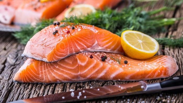 Benefits Of Salmon Fish in Marathi - Salmon Fish Name In Marathi