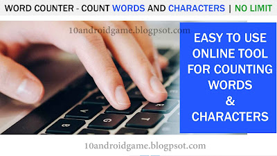 Word Counter - Count Words and Characters   No Limit