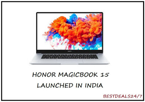 Honor MagicBook 15 launched in India