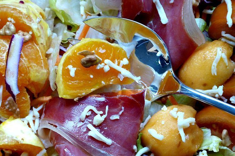 Ensalada de jamón