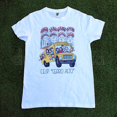 Camiseta viaje fin de curso