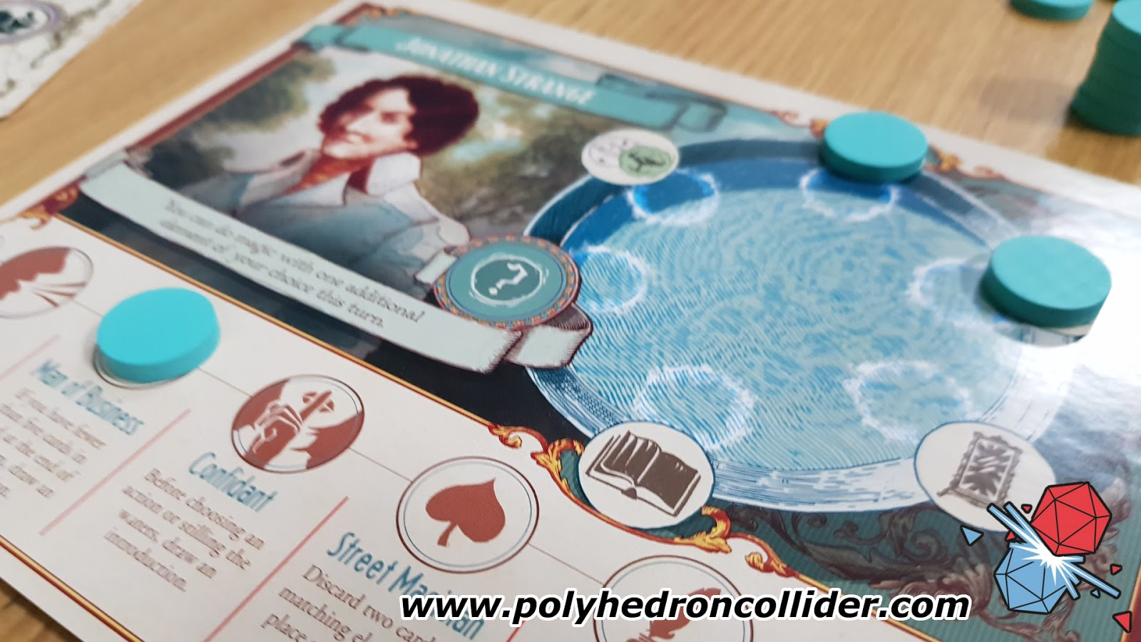Jonathan Strange and Mr Norrell a Board Game of English Magic Review