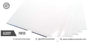 kertas stiker glossy a4 | pesan +62 852-2765-5050