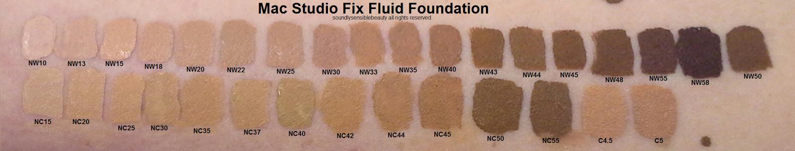 Studio Fix Fluid Foundation by MAC #5