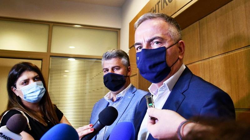 Στην Αλεξανδρούπολη ο Υφυπουργός Μακεδονίας - Θράκης Σταύρος Καλαφάτης