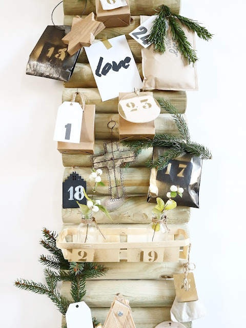 Advent calendar / Christmas / Atelier ue verte, le blog /