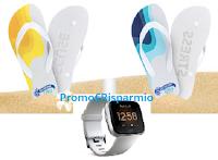 """Logo Nostromo ''""""Fit Yuor Summer'': vinci 5.950 ciabatte infradito e 17 Smartwatch Fit Bit"""
